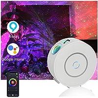 Projetor Smart Galaxy compatível com Alexa e Google Home,Projetor de Luz Nebulosa Star Night com Nebula,Luzes Céu…