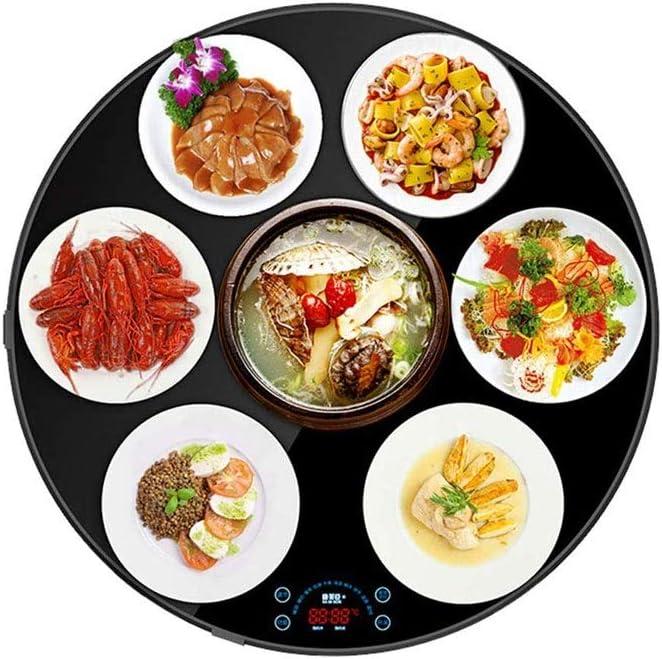 食品断熱ボードのホットプレート断熱ボード断熱表温暖化プレートアーティファクトを調理ボード鍋を切断インテリジェントホーム断熱材 (Color : Non-rotatable)