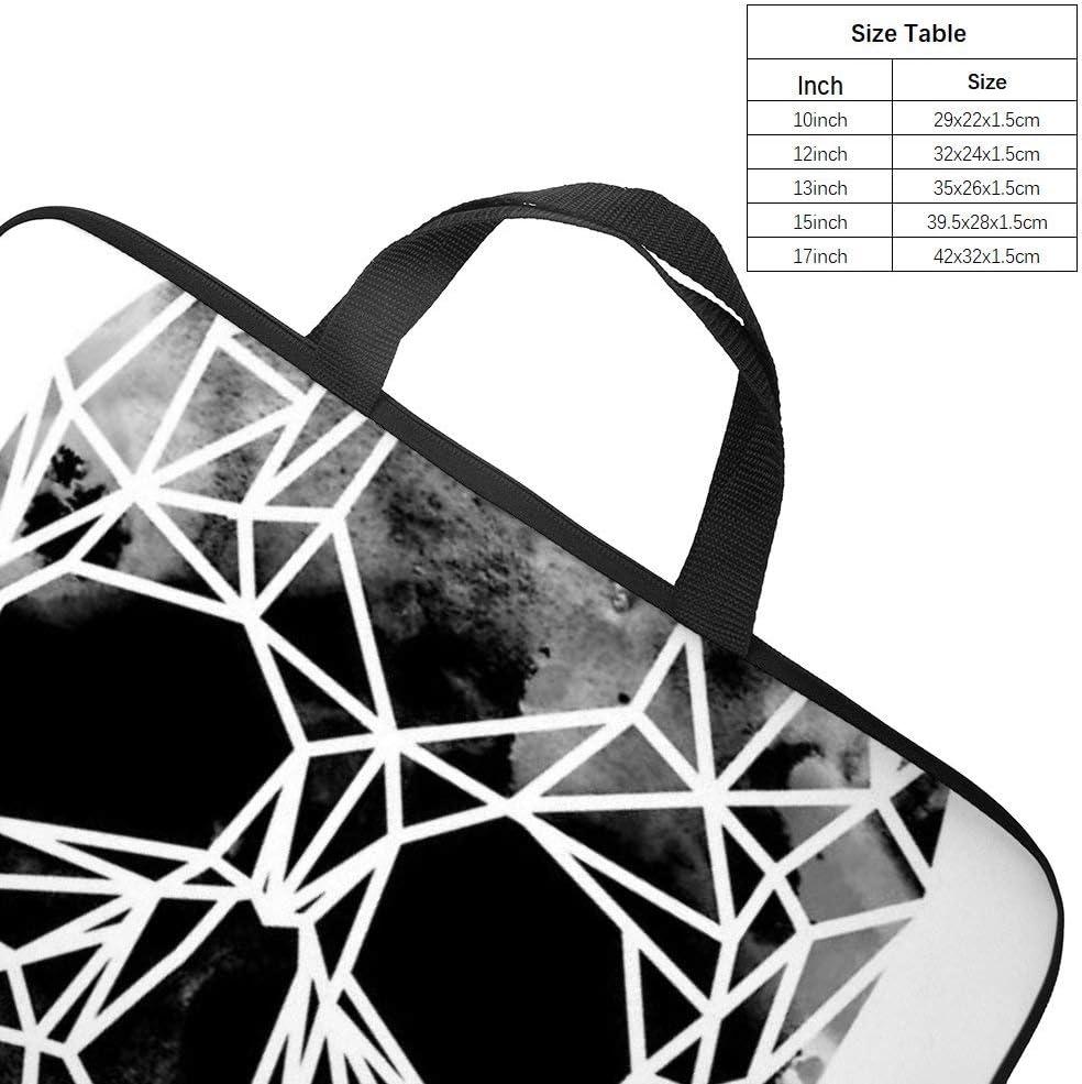 Laptop Bag Crystal Skull Infrared up Fashion Diving Fabric Shockproof Laptop Bag