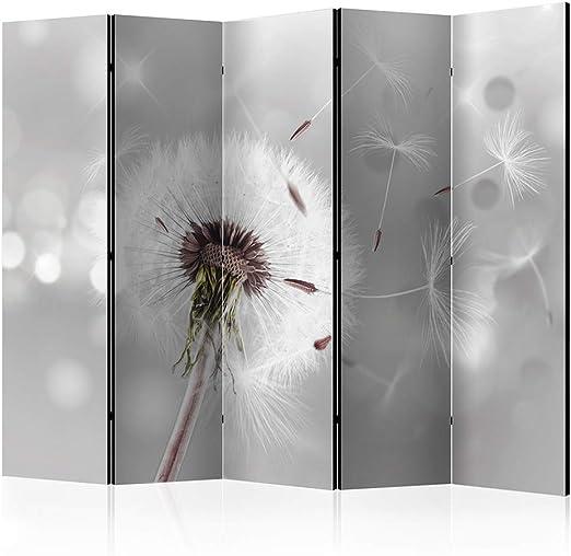Blumen Trennwand Raumteiler PARAVENT Spanische Wand Garten Pflanze Naturholz SPA