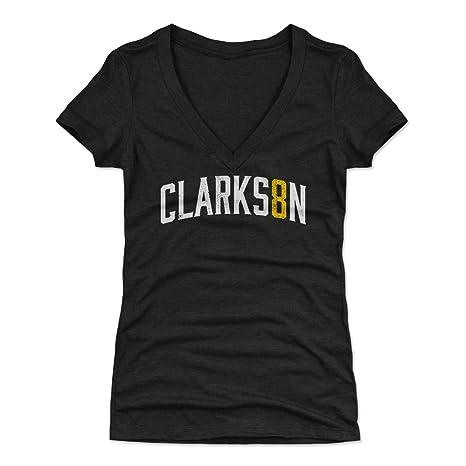 34dc20f29ee 500 LEVEL Jordan Clarkson Women's V-Neck Shirt Small Tri Black - Cleveland  Basketball Women's