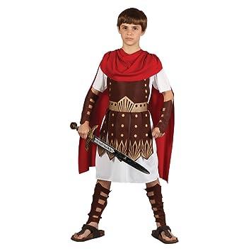 Traje del Disfraz del Partido de la Víspera de todos los Santos de muchachos Roman Gladiator Centurion 3/4 años (disfraz)