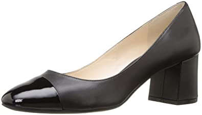 a80d76534af Cole Haan Womens Dawna Grand Pump 55mm 5 Black Leather-Patent