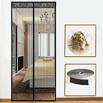 Unilife Moustiquaire Magnétique Pour Portes Porte Fenêtre Rideau
