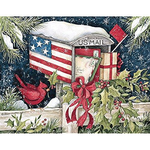 Country Christmas Cards: Amazon.com
