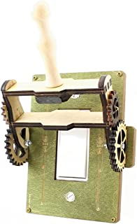 product image for Green Tree Jewelry Steampunk Decora Rocker Throw Switch Green Wood Light Switch Plate Cover