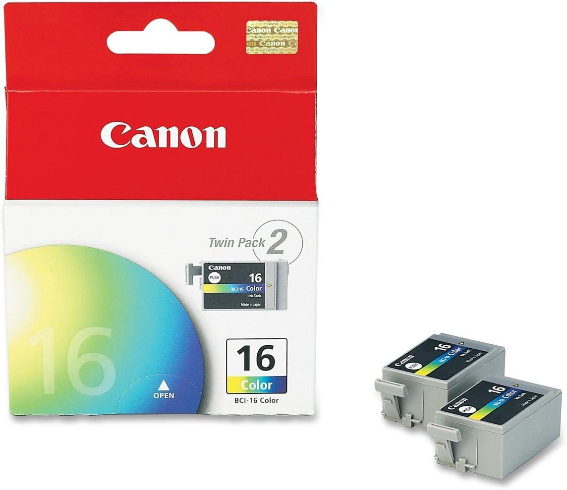 Canon BCI-16 Color - Cartucho de Tinta Color: Amazon.es: Oficina y papelería