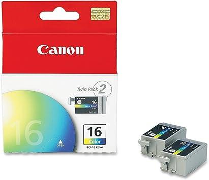 Amazon.com: Canon BCI-16 Twinpack Color cartuchos de tinta ...
