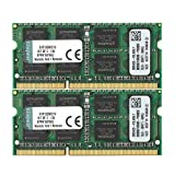 ValueRAM 16GB Kit (2x8GB) 1333MHz DDR3 PC3-10600 Non-ECC CL9 SODIMM Notebook Memory KVR13S9K2/16
