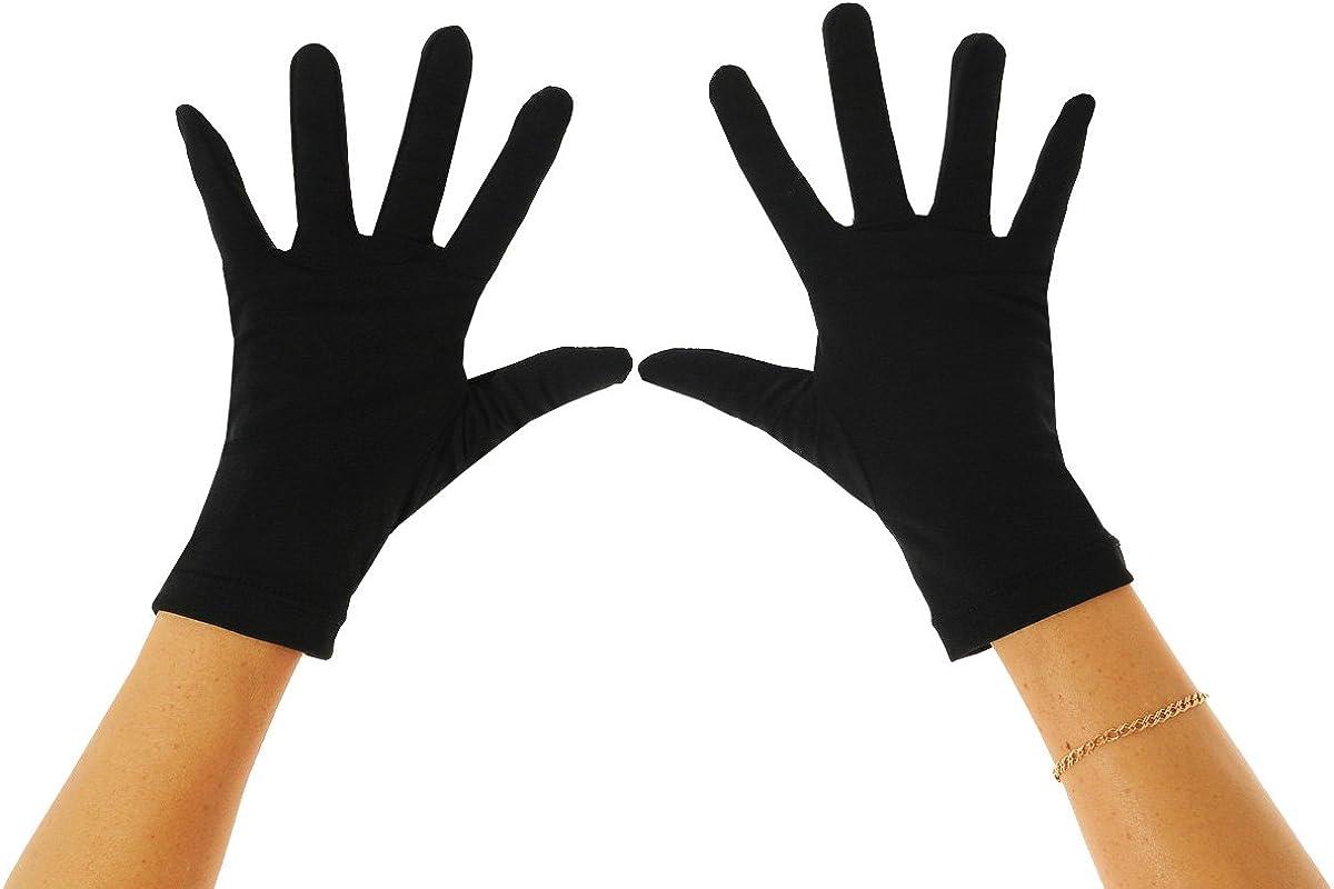 EcoStinger UV Gloves Sun Protection Cover UPF50+ Chlorine Resistance Black