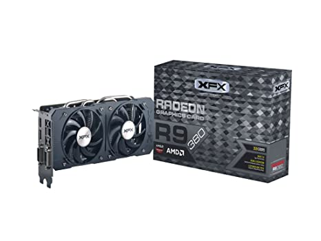 Amazon.com: XFX doble disipación R9 380 970 MHz 4 GB ddr5 ...
