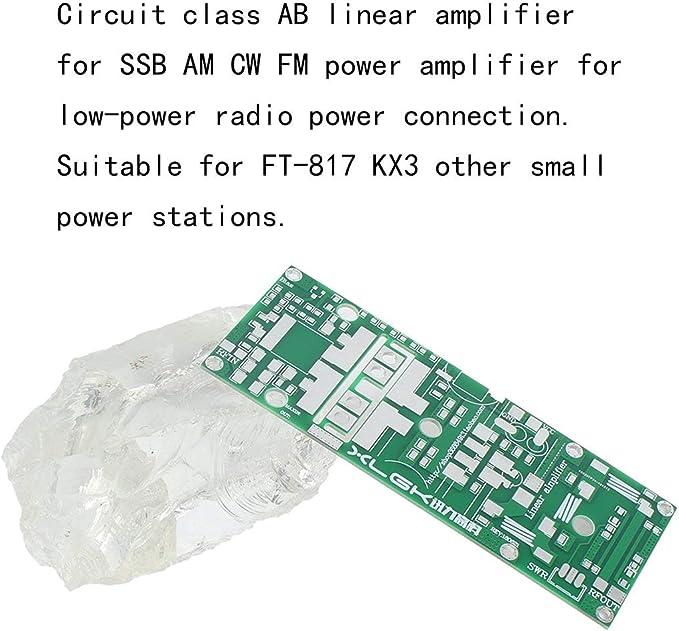 Zinniaya 100W UHF 400--470MHZ Amplificador Tablero del ...