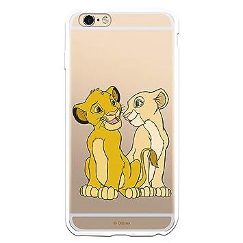 Fundas para iPhone 6 Plus - iPhone 6s Plus Oficiales de El Rey León para Proteger tu Móvil. Carcasa para iPhone de Silicona Flexible con Licencia ...