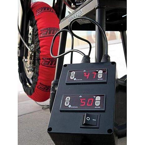 DMP Digital Slingshot Tire calentador 110/120 180/195 Par