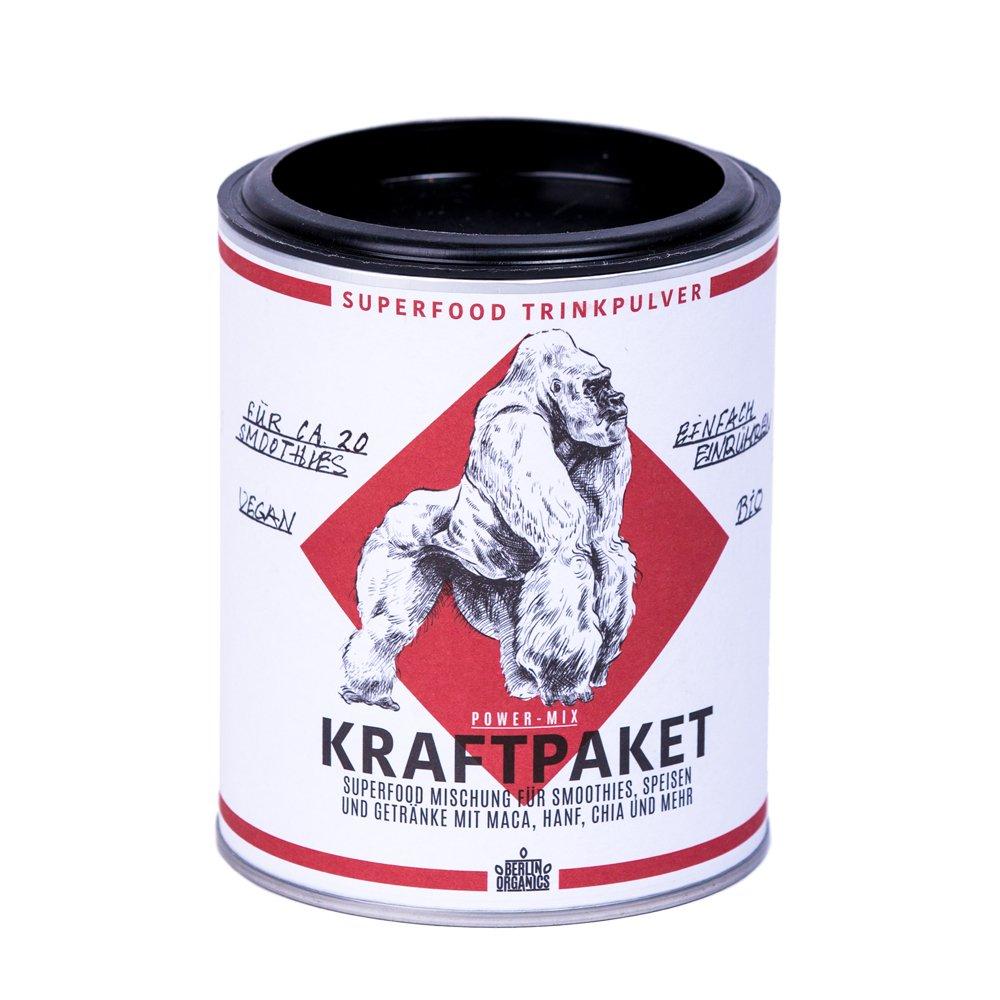 Berlin Organics Kraftpaket - Superfood Protein Mischung ...