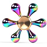 Kewtee 指スピナー スピン ウィジェット フォーカス 玩具 ハンドスピナー Hand spinner Fidget Spinner Toy EDC ADHD ストレス解消 暇つぶし 脳トレー ボールベアリング (11.7)