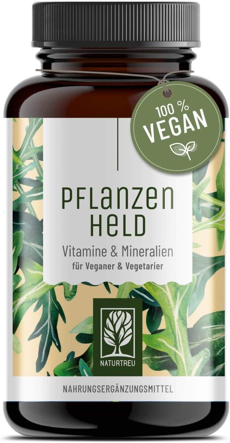 PFLANZENHELD Kapseln für Veganer und Vegetarier