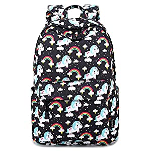 Abshoo Cute Lightweight Unicorn Backpacks Girls School Bags Kids Bookbags