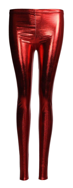 Forever Womens Liquid Wetlook Shiny Metallic Stretchy Leggings