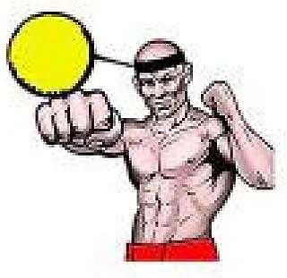 Malloom Balle De Combat avec La Bande De Tête pour La Formation De Vitesse RéFlexe Boxe Boxe Punch Exercice Boxe-a)
