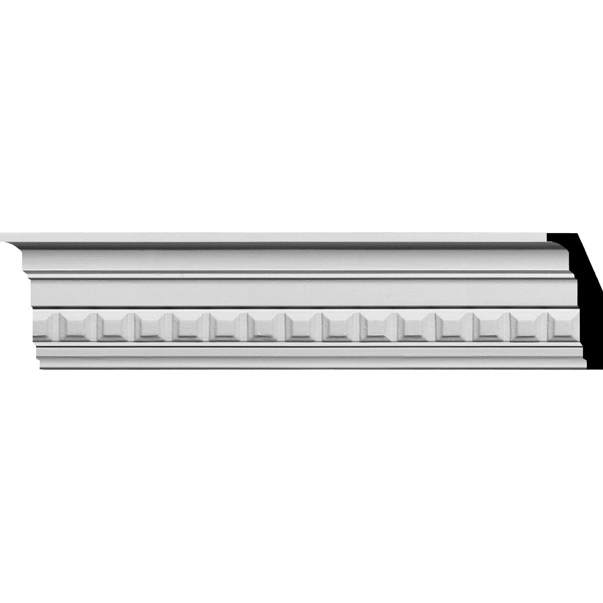 3 1/2''H x 1 7/8''P x 4''F x 94 1/2''L Sequential Crown Moulding (12-Pack)