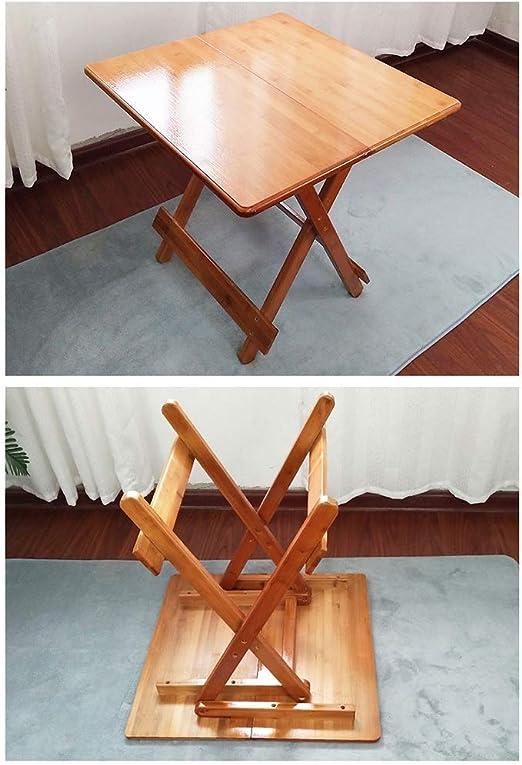 Table Pliante Xyanzi - Table de Jardin - Table en Bois ...