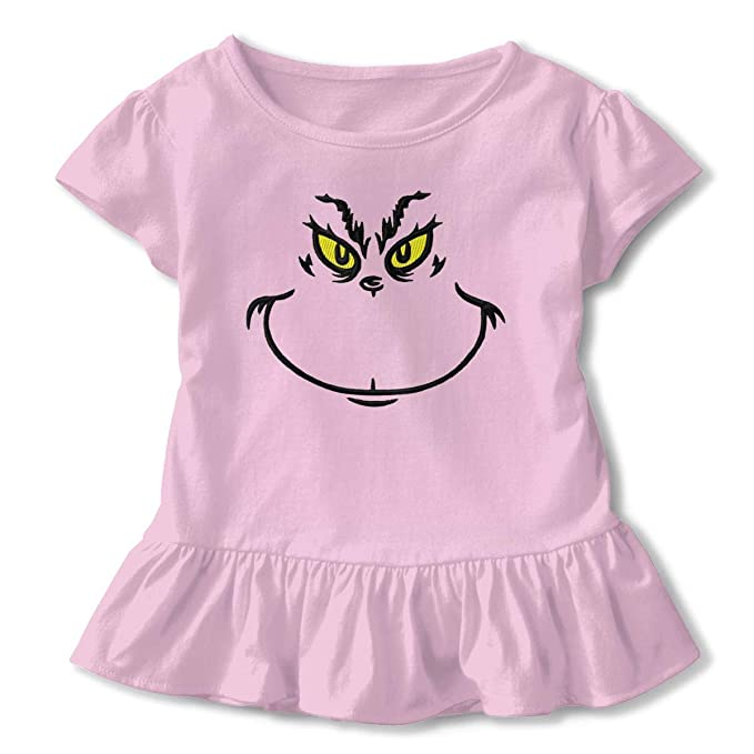 bfa6bd65a Amazon.com  Babyife Grinch Stole Christmas Little Girls Cotton ...