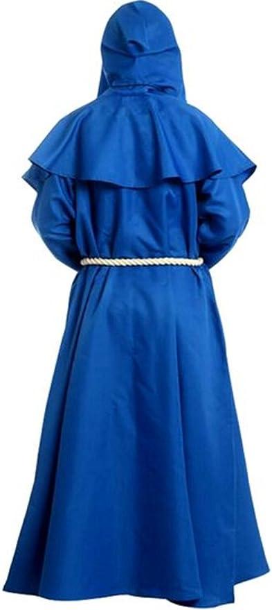 Amazon.com: Disfraz medieval para la Monjes Sacerdote Traje ...
