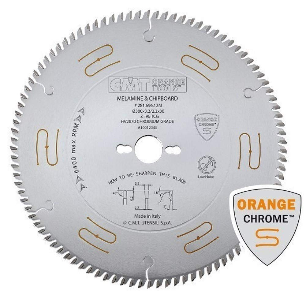 / Scie circulaire 250/ x 3,2//2,2/ x 30/ Z 80/ 5tcg chrom/é CMT Orange Tools 281.680.10/ m/