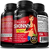 Diet Pills SKINNY AGAIN: 100% Natural, Gluten Free - Best Reviews Guide