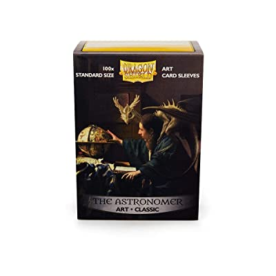 Arcane Tinman Dragon Shield: Limited Edition Art: The Astronomer - Box of 100 Sleeves, Standard: Toys & Games