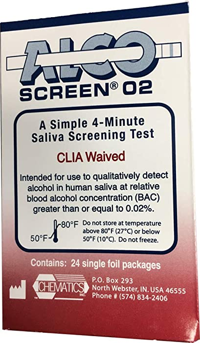 Top 10 Alcohol Blood Tester For Home Saliva