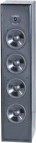 BIC America Venturi DV84 2-Way Tower Speaker, Black Single