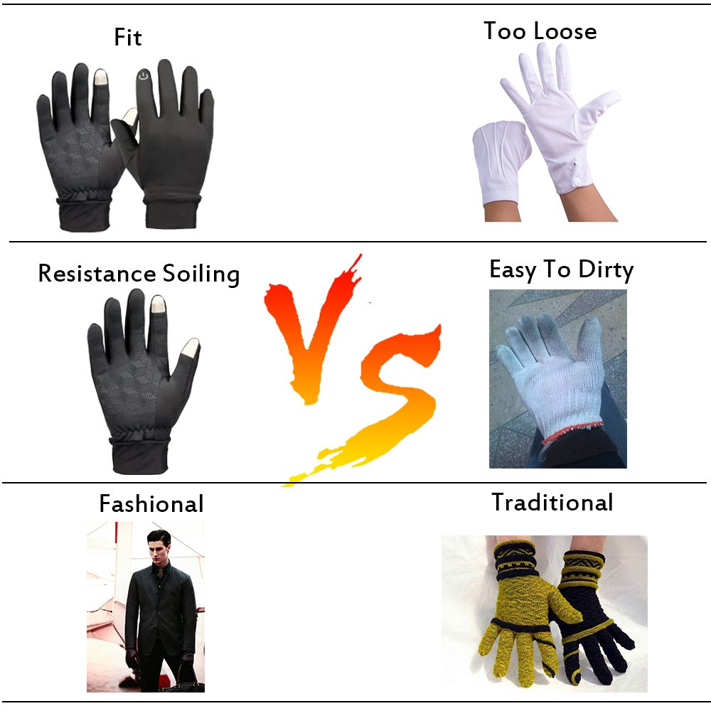 Singular point Touch Screen GlovesOutdoor Sports Gloves, Warm Gloves, Sports Gloves For Biking, Anti- Slip Gloves For Traveling-The Best For Men And Women (M)