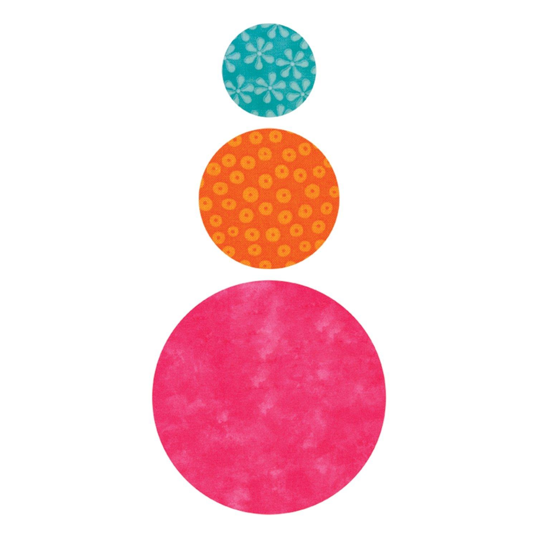 AccuQuilt Go Fabric Cutting Dies, Circles 550-12