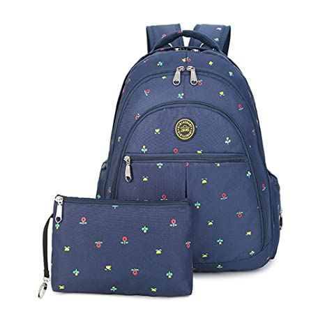 Bolsa de pañales mochila moda multi-función gran capacidad bolsa materna e infantil de la