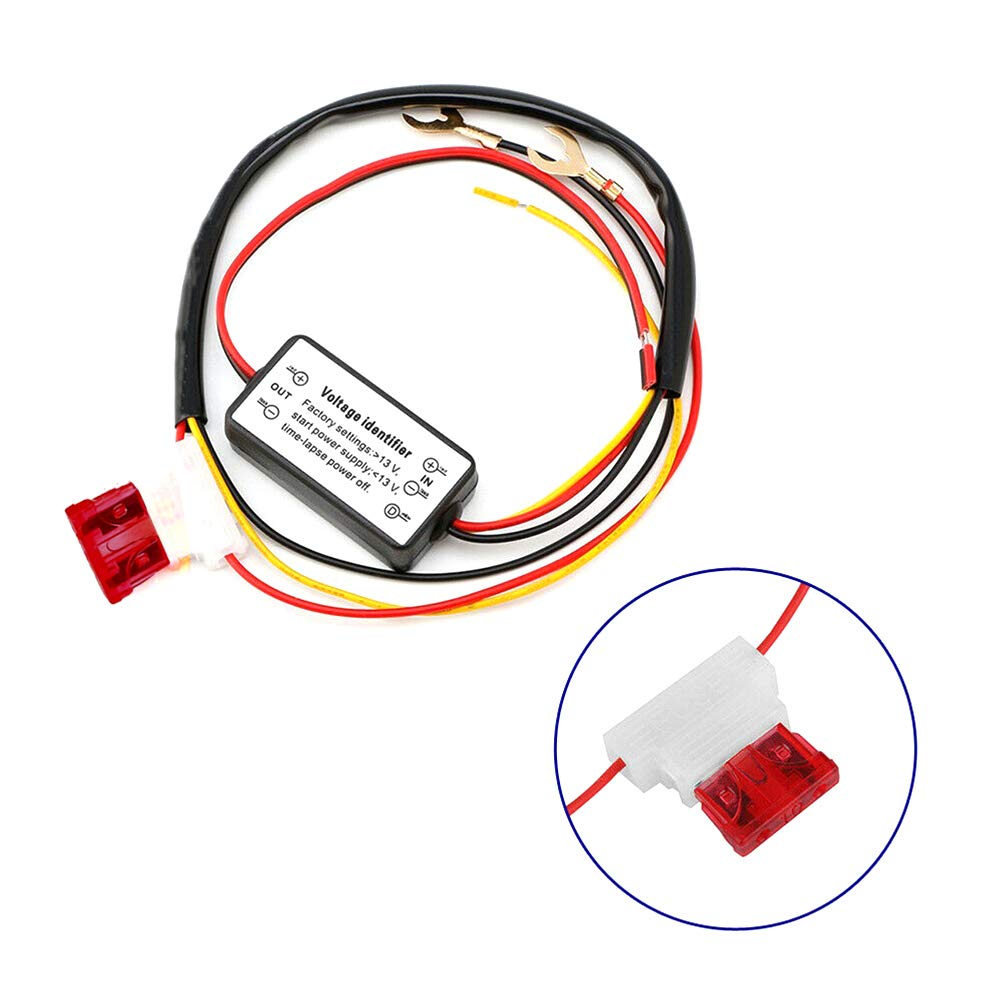 lymty Daytime running light controller,Car LED Daytime Running Light Automatic ON//OFF Controller Module DRL Relay Kits