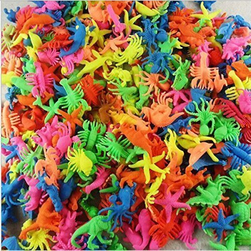 100g Magic Growing in water Sea Creature Animals Bulk swell toys kid gift by Magic Growing