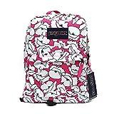 JanSport T501 Superbreak Backpack - Cyber Pink Block Floral
