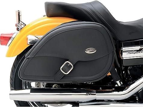 Saddlemen Drifter Teardop Motorrad Satteltaschen Mit Schnitt Für Stoßdämpfer Auto