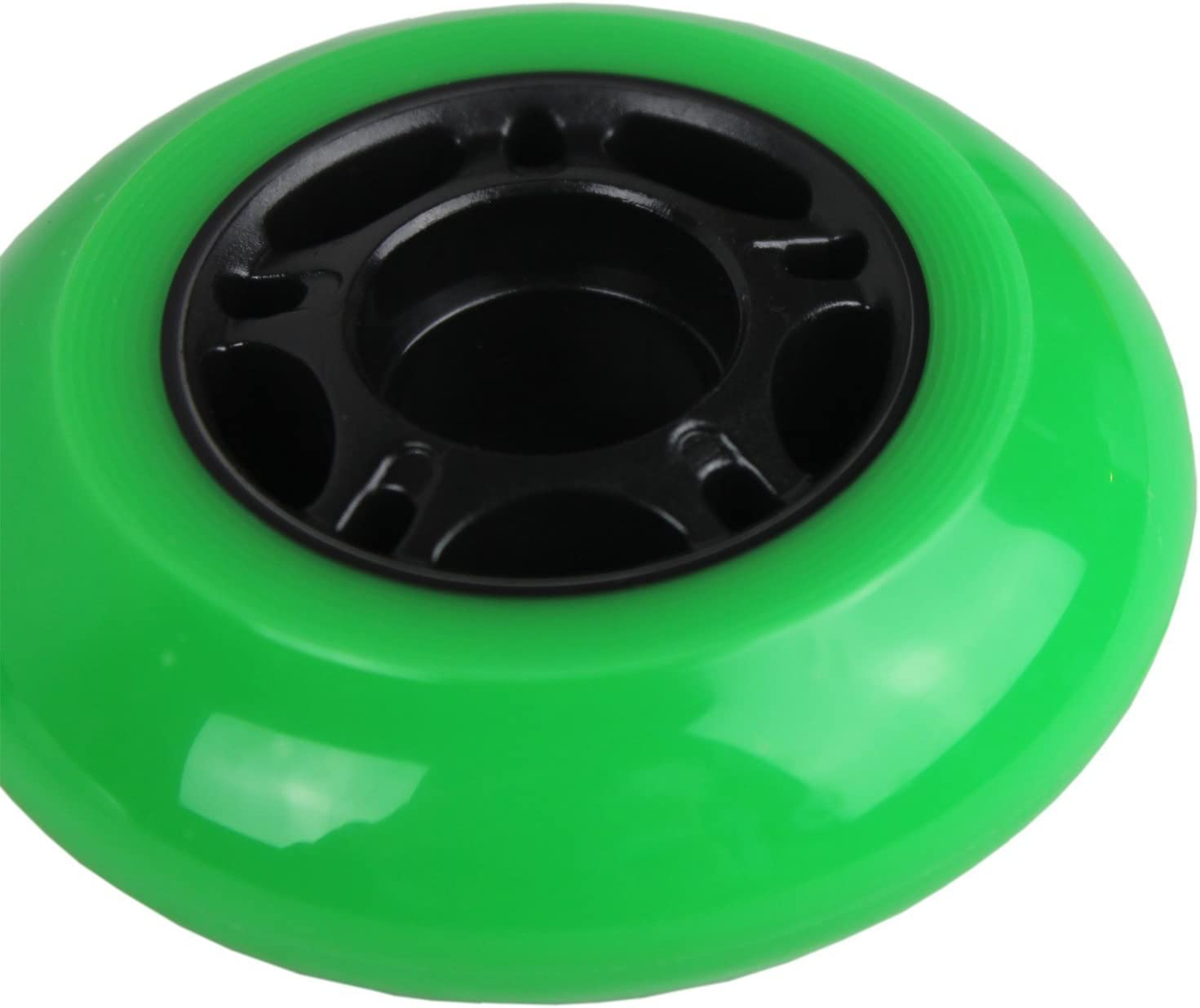 Players Choice Outdoor Inline Skate Wheels 76mm//80mm Grn Hilo Roller Blade Hockey ABEC 9 Bearings