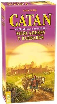 Devir Catan Mercaderes y Bárbaros - Expansión 5-6 Jugadores: Amazon.es: Juguetes y juegos