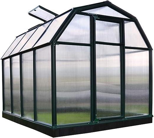 RION Invernadero Jardín Casa plástico Smart 34 + Base//263 x 204 x 198 cm (LxBxH); Invernadero & Tomate Casa para cultivo: Amazon.es: Jardín