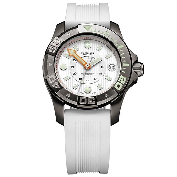 Victorinox Swiss Army de Mujer Reloj de Pulsera XL Professional Dive Master analógico de Cuarzo Caucho 241556: Amazon.es: Relojes