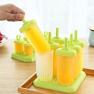 Molde plastico verano helado casero de helados helados helados helados casa creativa de grado alimenticio jalea