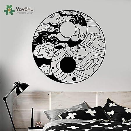 yaoxingfu Tatuajes de Pared Diseño Moderno Especial Yin Yang ...