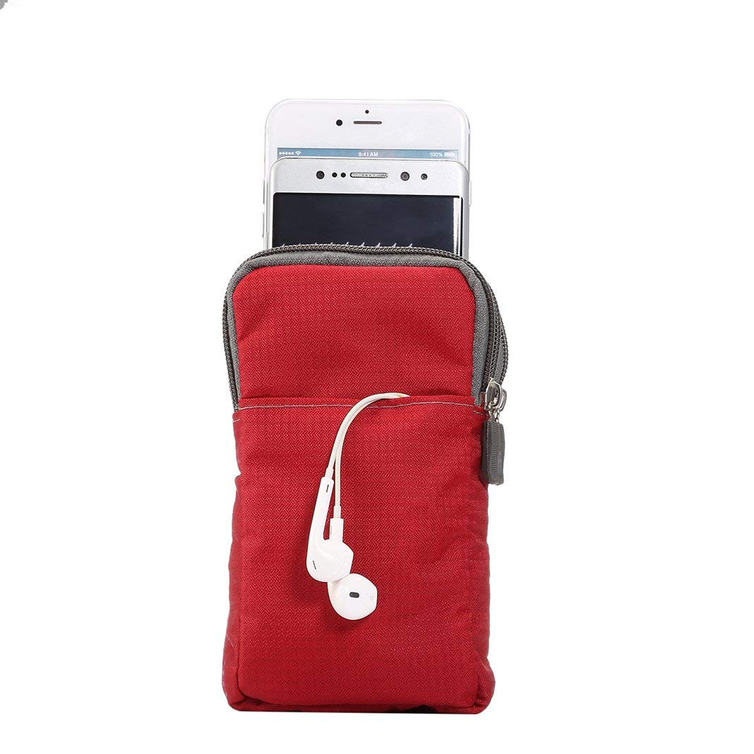 Bolsa de Tel/éfono Celular 6.0//6.3 Funda del Tel/éfono Bolsa Compacta de Cintura Ri/ñoneras Bandolera de Mujer Cruzado de Hombro Monedero de Bolsillo con Cintura Gancho Cintura Bolsas Tel/éfono Hombre