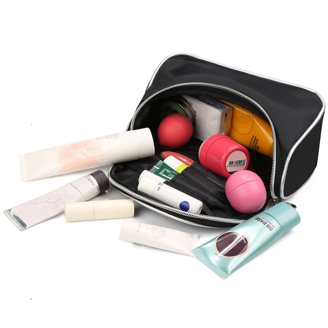 eshion Women Nylon Makeup Bag Portable Cosmetic Toiletry Bags Travel Storage Organizer