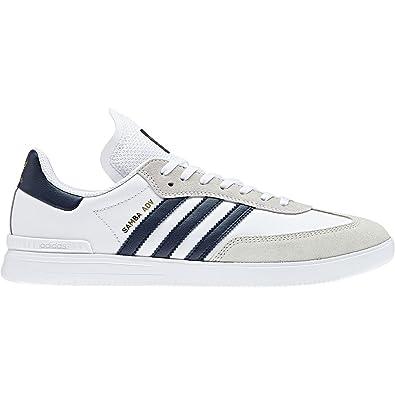 1281cbb20efdf adidas Skateboarding Men s Samba ADV Footwear White Collegiate Navy Gold  Metallic 8.5 ...