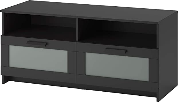 Amazon Com Ikea Brimnes Tv Unit Black Furniture Decor